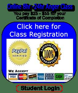 Free Online 8hr Anger Class